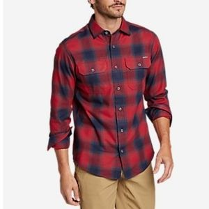 Eddie Bauer Travex Expedition Performance Flannel